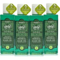 Khadi Mind-Fresh Herbal Hair Oil  Pack Of 4  200 Ml