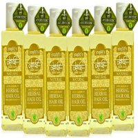 Khadi Anti-Dandruff Herbal Hair Oil Pack Of 6 200 Ml