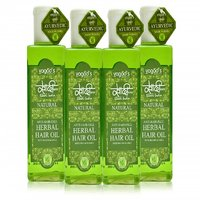 Khadi Anti-Hairfall Herbal Hair Oil Pack Of 4 100ml