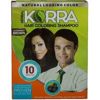 Korra Coloring Shampoo Hair Color Black Pack Of 20 30 ML Each