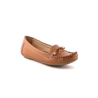 Bruno Manetti Women Tan Casual Shoes (676-1-Tan)