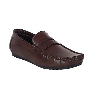Shoe Adda Take Over Casual Loafer Brown 323