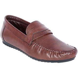 Shoe Adda Take Over  Stylish Casual Loafer Brown 326