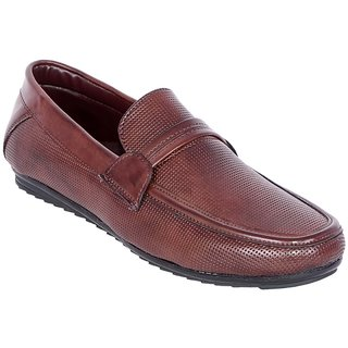 Shoe Adda Take Over Classy Casual Loafer Brown 329