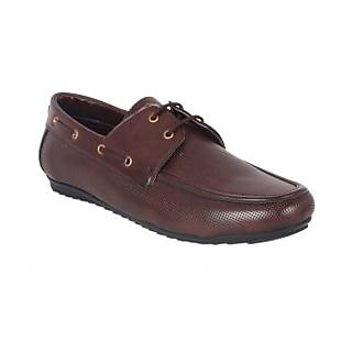 Shoe Adda Take Over Lace UP Casual Shoe Brown 342