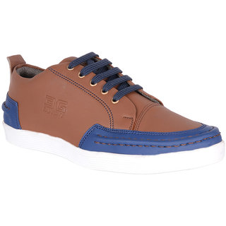 Shoe Adda Smart Brown Sneakers Shoe  843