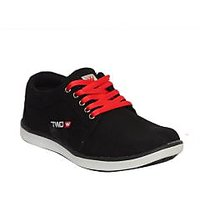 Twd 1139 Men Black, Red Sports Shoes - 93440492