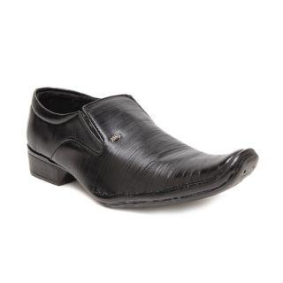 BAAJ Slip On Black Formal Shoes BJ171 - 93864924