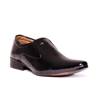 BAAJ Slip On Black Formal Shoes BJ207 - 93869606