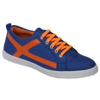 Trendigo MenS Blue Lace-Up Casual Shoes - 93761929