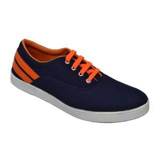 Trendigo MenS Blue Lace-Up Casual Shoes - 93761697