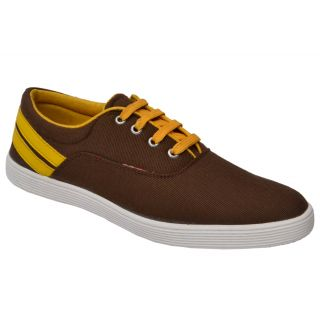 Trendigo MenS Brown Lace-Up Casual Shoes - 93761746