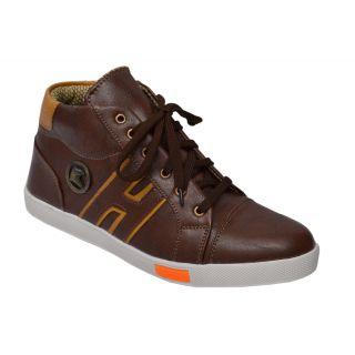 Trendigo MenS Beige Lace-Up Casual Shoes - 93761749