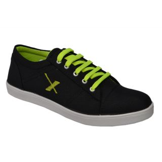 Trendigo MenS Black Lace-Up Casual Shoes - 93761758