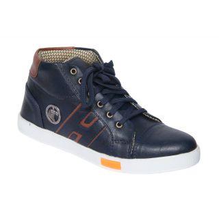 Trendigo MenS Black Lace-Up Casual Shoes - 93761802
