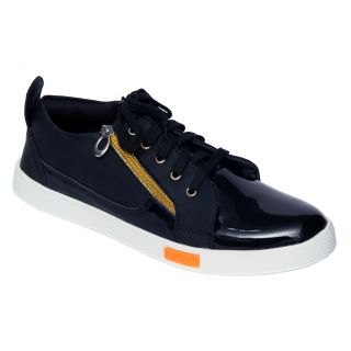 Trendigo MenS Black Lace-Up Casual Shoes - 93761812