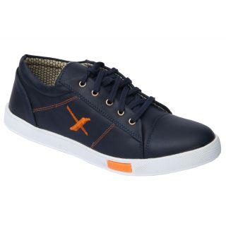 Trendigo MenS Black Lace-Up Casual Shoes - 93761880