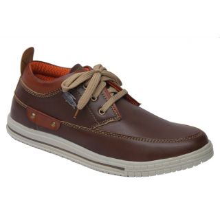 Trendigo MenS Brown Lace-Up Casual Shoes - 93761913