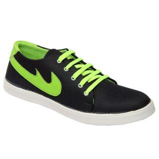 Trendigo MenS Black Lace-Up Casual Shoes - 93761923