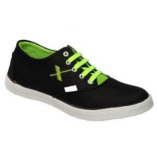 Trendigo MenS Black Lace-Up Casual Shoes - 93761936