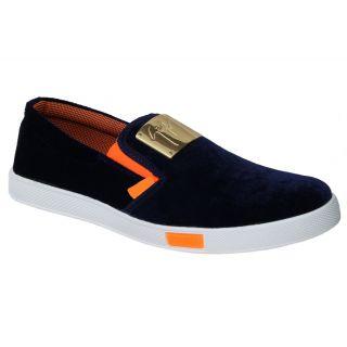 Trendigo MenS Brown Slip On Casual Shoes