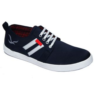 Trendigo MenS Blue Lace-Up Casual Shoes - 93761974