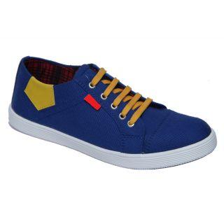 Trendigo MenS Light Blue Lace-Up Casual Shoes - 93761978