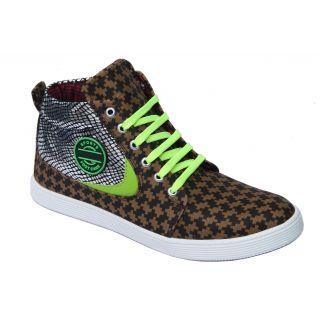 Trendigo MenS Beige Lace-Up Casual Shoes - 93762002