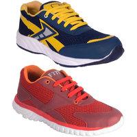 Jokatoo MenS Multi Lace-Up Sport Shoes - 93765267