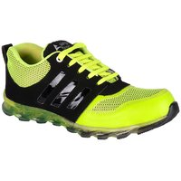 Jokatoo MenS Green Lace-Up Sport Shoes