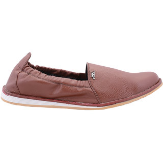 Beautiful Tan Color Leather Men Loafers From The House Of Radiant - 93917775