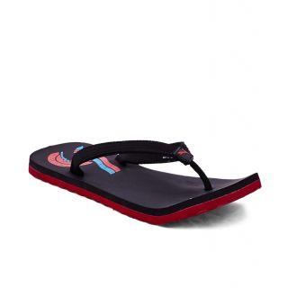 Puma Wave II Dp Black Red Flip Flops - 93935347