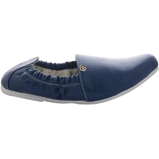 Beautiful Blue Color Synthetic Leather Men Loafers From The House Of Radiant