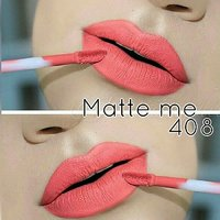 Incolor Matte Me 24 Hr Stay Ultra Smooth Lip Cream-408(Lowest Price Ever) FREE ONE LIP LINER +KAJALFREE,FAST  COD SHI