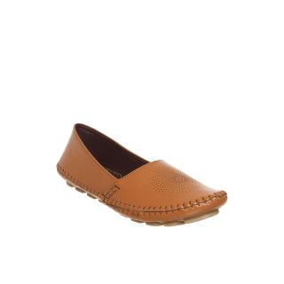 Bruno Manetti WomenS Tan Loafers Shoes