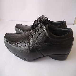 99StoreOnine Black Pearl 100 Percent Genuine Lather Formal Shoes