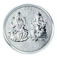 800mg Do Murti Silver Coin 999 Purity By Parshwa Padmavati Gold