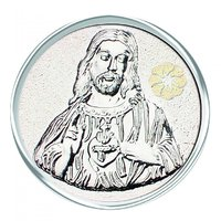 800mg Jesus Silver Coin 999 Purity By Parshwa Padmavati Gold - 94229786