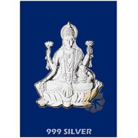 800mg Laxmi Silver Cut Coins 999 Purity By Parshwa Padmavati Gold