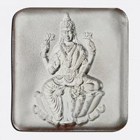 Laxmi Square Silver Coin 2grams 999 Silver Purity By Parshwa Padmavati Gold