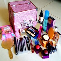 Exclusive Professional Mega Wedding Beauty Makeup Kit /Combo Large Vanity Box