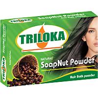 Triloka Soapnut (RITA) Hair Bath Powder ( Shampoo Powder) Box Pack