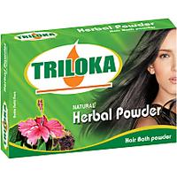 Triloka Manadara (Hibiscus) Hair Bath Powder ( Shampoo Powder) Box Pack