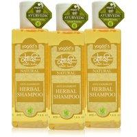 Khadi Anti-Dandruff Herbal Shampoo  PACK OF 3 200 ML