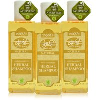 Khadi Anti-Dandruff Herbal Shampoo  PACK OF 3 100 ML