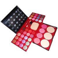 Ads Makeup Kit Laptop With 24 Color Eye Shadow Blusher Compact Etc A8199 M 1