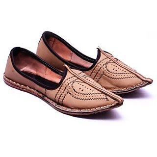 Skylyf Leather Ethnic Mojari Mozari Jutti Juti Jooti Footwear