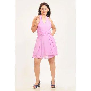 A Guster Ve..C3G011A Halter Neck Dress