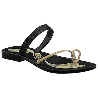 Yepme Women's Black Stylish Sandals