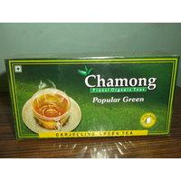 Green Tea Bags - Chamong Popular Green Tea 25 Tea Bags
